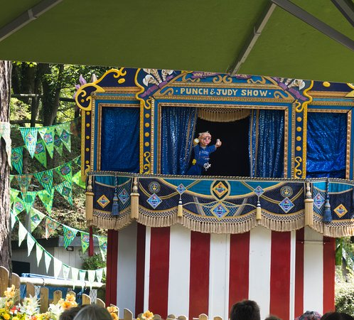 Punch & Judy show for the children