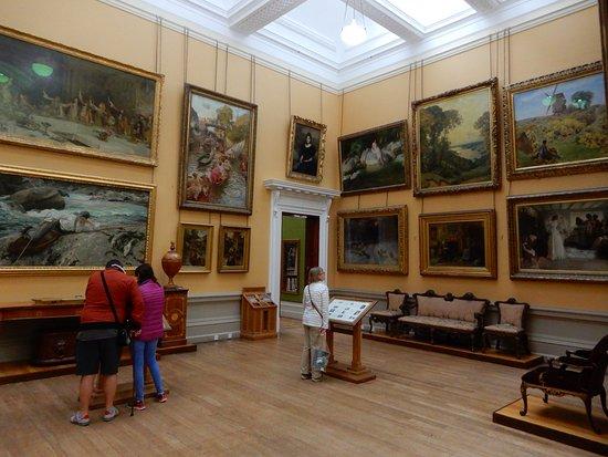 Lady Lever Art Gallery: Paintings in Art Gallery.