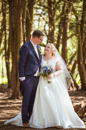 Taplow House Hotel: One of our wedding pictures from within the grounds of Taplow House