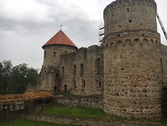 Cesis Castle Outdoor Stage