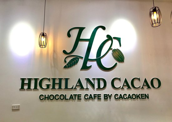 Highland Cacao: First Chocolate Cafe in Hanoi to serve a wide range of cacao-based drinks from highland cacao, Vietnam as well as high quality Vietnamese coffee, Japanese matcha and hojicha!