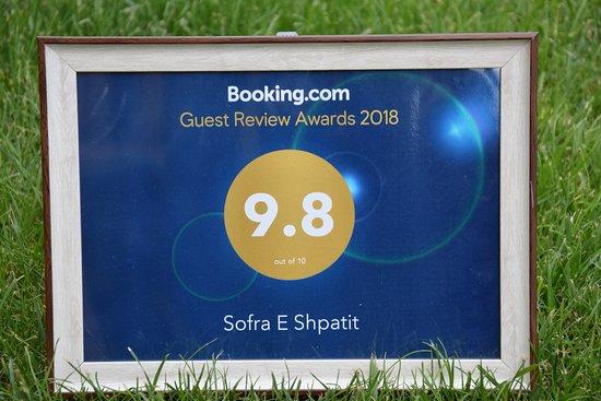 Gjinari, Albania: Award from Booking Honored!