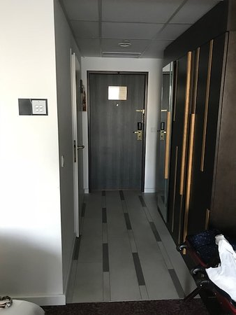 a second isolation door would be welcome to better isolate from corridor noise