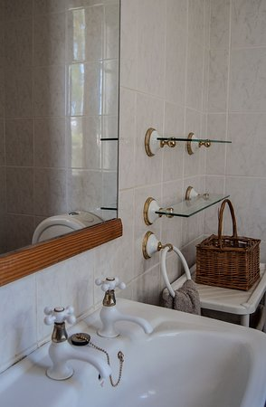 Of course our Frieda Apartment has a private bathroom with shower