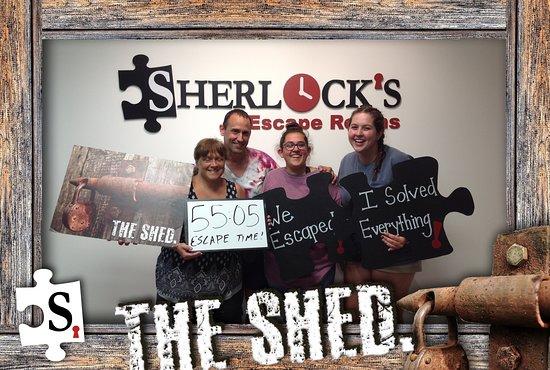Cold Spring, Κεντάκι: We escaped the Shed!