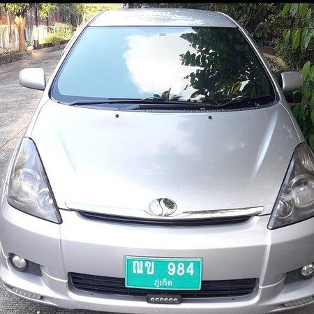 Patong, Thailand: Chater sedan