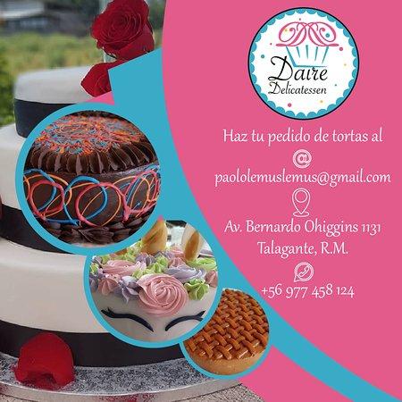 Innombrables Cafe: Solicita tú torta!
