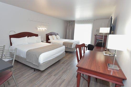 Hotel et Pavillons Le Petit Manoir du Casino: Chambres deux lits pavillons