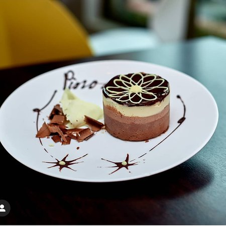 Our special CHOCOLATE CHEESE CAKE..........Available #LaPiazza #Pinocchio