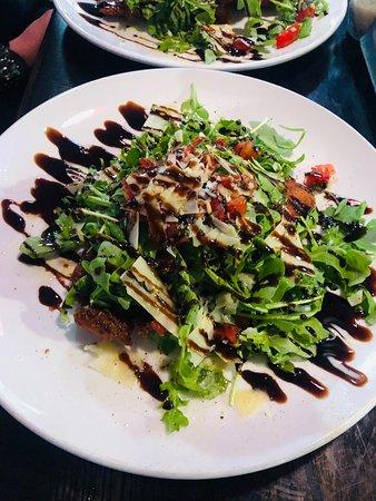 Rico's Pizzeria: Chicken Milanese Salad - Amazing!