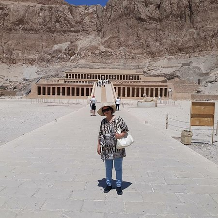 The most famous cemetery, the Valley of the Kings