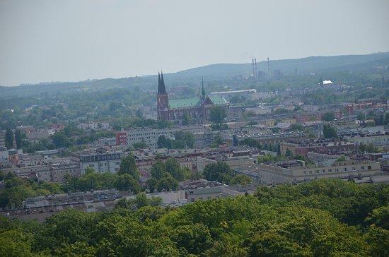 Widok z wieży na Jasnej Górze