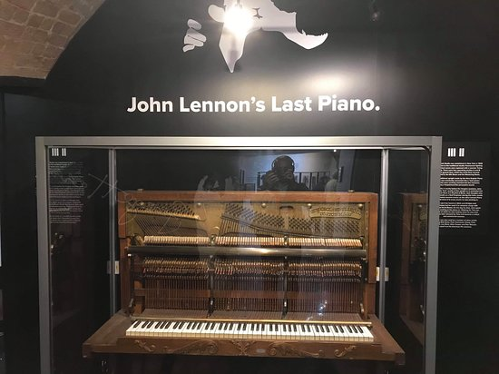 The Beatles Story Experience: The last piano John played