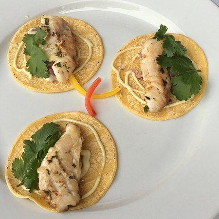 Snapper tacos