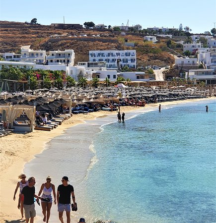 Πλατύς Γιαλός, Ελλάδα: Кусочек пляжа.
