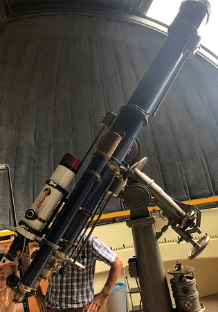a fully operational 1920's telescope
