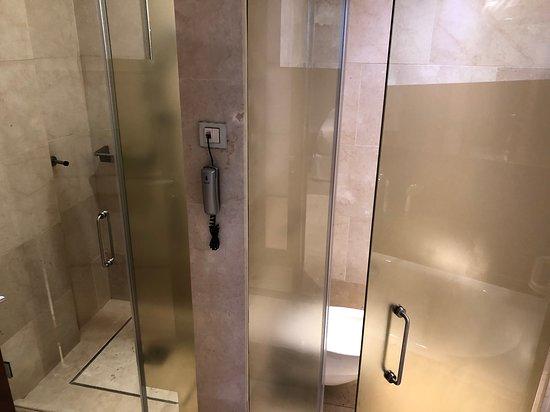 Az üvegajtós WC-t nem is értem.