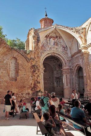 Visita guiada a las ruinas e interior del Monasterio de Piedra.