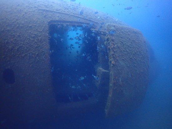 Airbus Wreck Dive at Kusadasi Diving Center with Tolga Pat & Zeynep Erez