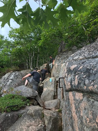 Precipice Trail: a huffy puffy part