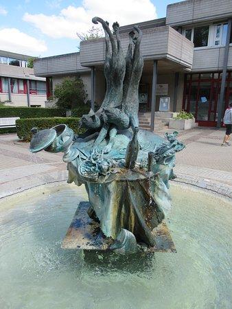 Détail de la fontaine