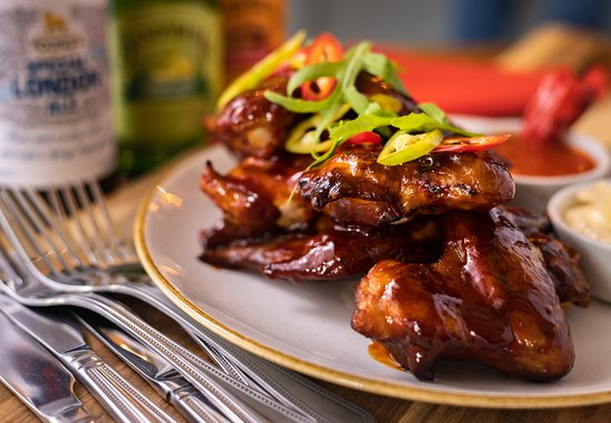 Grand Junction Arms - London: Smoked Chicken Wings