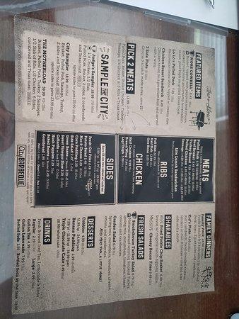 Main menu pages
