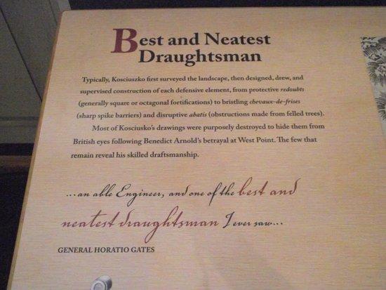 Thaddeus Kosciuszko National Memorial: PA - PHILADELPHIA - KOSCIUSZKO NM #18 –  BEST & NEATEST DRAUGHTSMAN