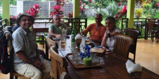 Tetebatu, Indonesia: At Surya Mandalika Restorant