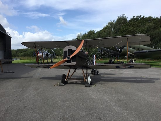 SE5a at Yorkshire Air Museum