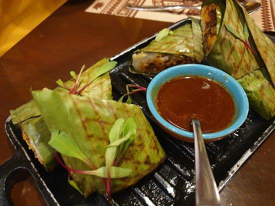 Burma Burma Restaurant & Tea Room: rice