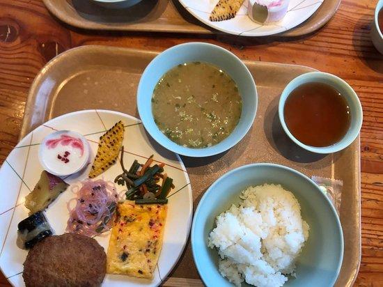 Hakusan Murodo: 夕食です