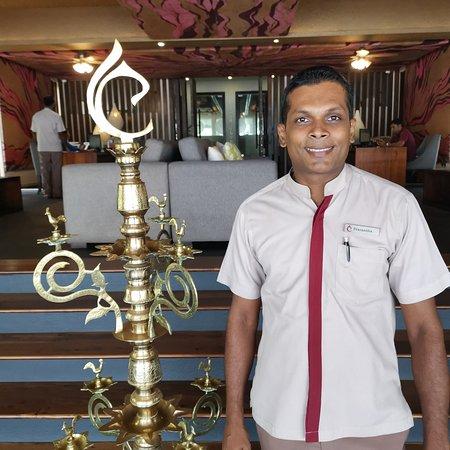 Prasantha the captain at the lobby, the most helpful gentleman  I love U my friend.