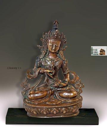 Фольклорный театр и музей Керала: Lord Buddha, bronze collection