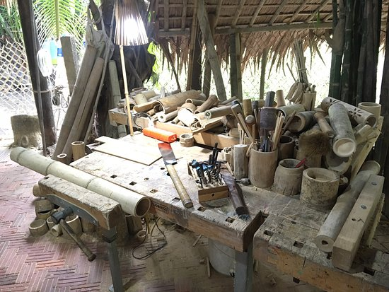 Taboo Bamboo Workshop: A great way to spend our last morning in Hoi An