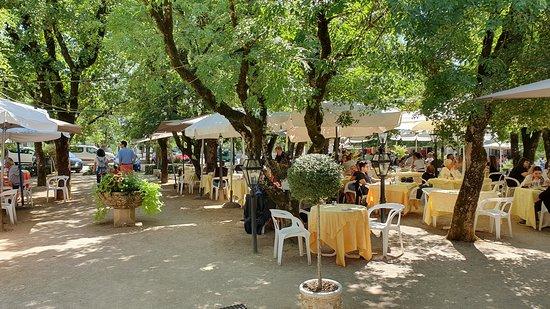 Restaurant du Chateau: La terrasse