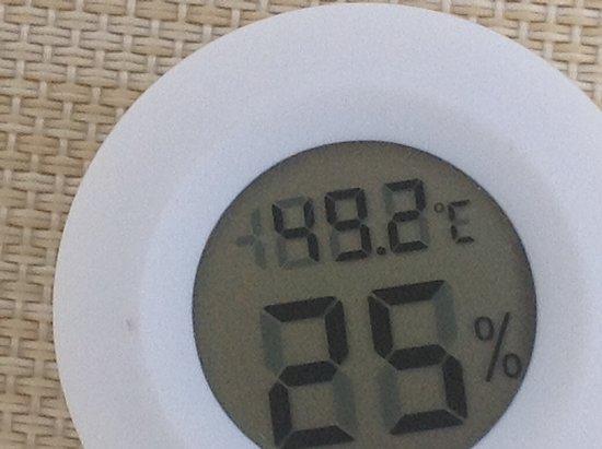 Tad warm 49.2 degrees