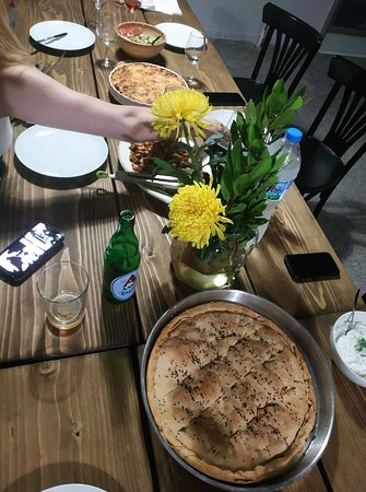 Traditional Greek cooking class and dinner with an Acropolis view: Cheese pie