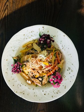 We have a daily special everyday for our pasta of the day.