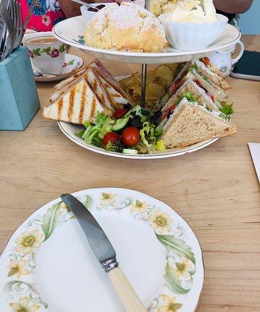 Birthday treat -afternoon tea
