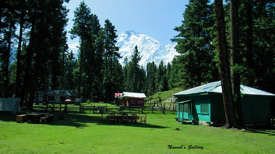 Chilas, Pakistan: Fairy Meadows: It is a very nice hotel and courteous staff. The room as nice and comfortable with electric power for camera and mobile charging. We spend 3 nights there, they have provided us extra mattress, blanket and pillow without any extra charges. The view of Nanga Parbat and surrounding is excellent from this place. Food was very expensive at Fairy Meadows and the taste is not that good too.