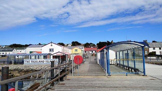 Jetty visitor centre Centro de información turística en Puerto Argentino/Stanley