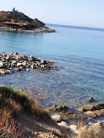 Spiaggia di Punta Molentis: Panorama 2