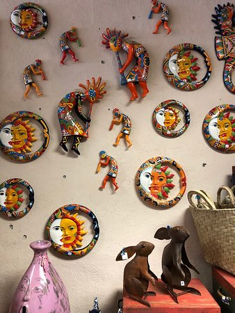 The Pink Store with its wide variety of made-in Mexico products!