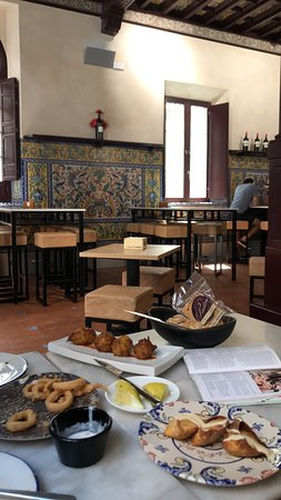 Great tapas and charming interior!