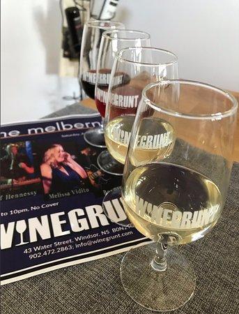 Wine flights and music nights!