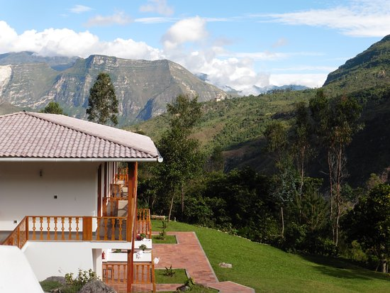 Cocachimba, Peru: PICTURE TAKEN  OF MY ROOM OVERLOOKING AMAZONAS CLOUD FOREST-GOCTA LODGE HOTEL4*Tell travellers more about your photo