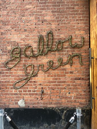 Gallow Green: Entry on West 27th Street