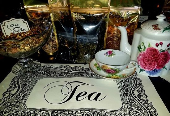So Many Delicious Teas to choose from! Come Join us for a High Tea Experience & grab some to take home!