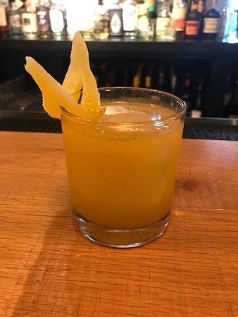 Summer unique Pisco cocktail